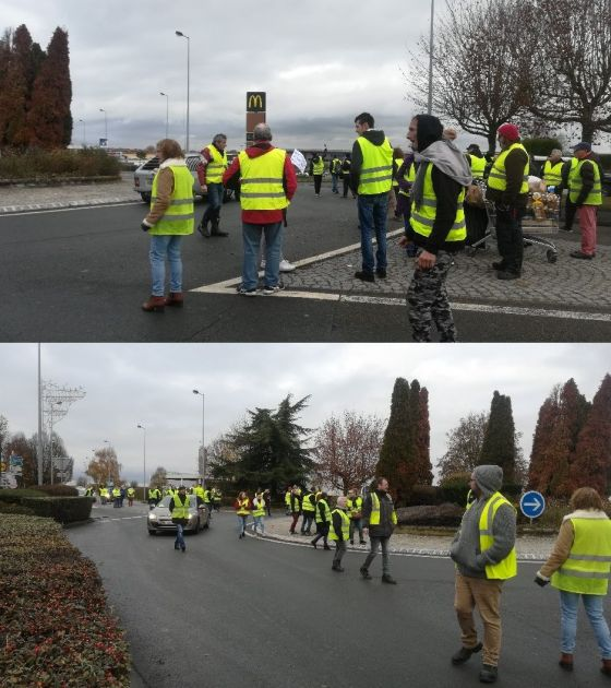 Gilets jaunes Saint Just