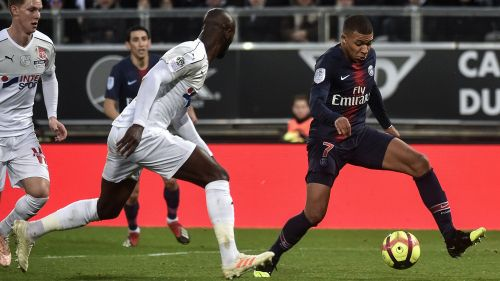Ligue 1 : Amiens s'incline face au Paris Saint-Germain