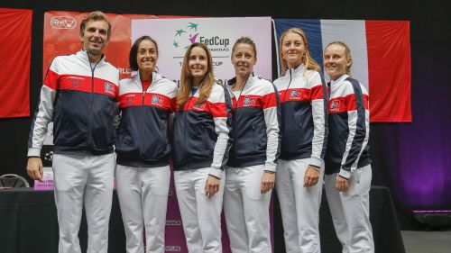 DIRECT VIDEO. Suivez Belgique-France, 1/4 de finale de la Fed Cup de tennis (Van Uytvanck-Garcia et Mertens-Cornet)
