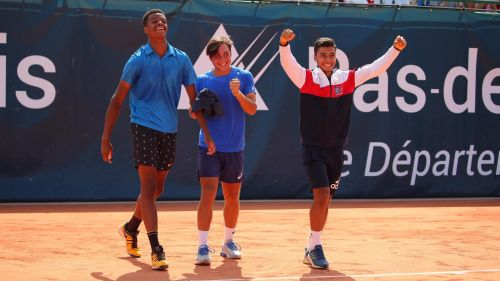 Le Touquet : la France remporte la Junior Davis Cup