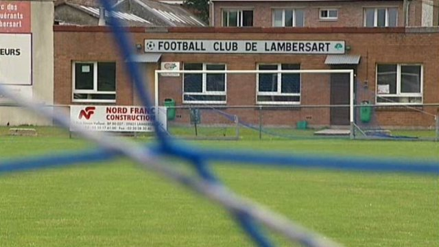 Le terrain de football du FC lambersart où ont eu lieu les violences. / © France 2