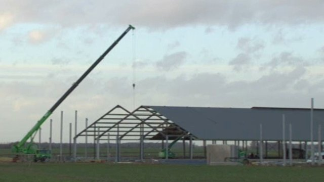 Chantier ferme des 1000 vaches / © France 3 Picardie