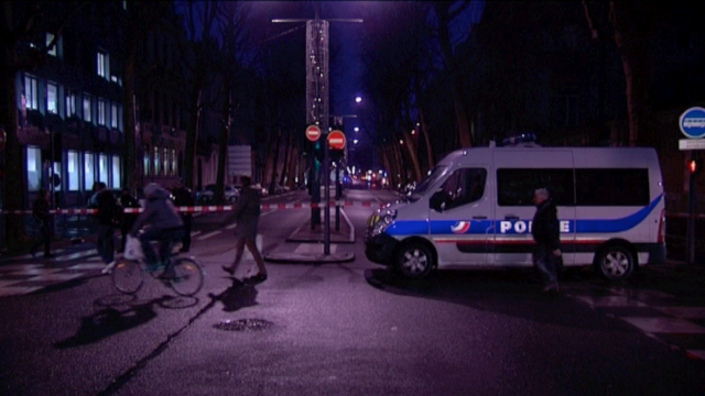 Le boulevard de la Liberté bloqué entre approximativement 7h30 et 8h30 © France TV