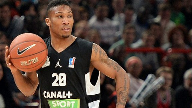 Andrew Albicy, joueur de Gravelines, a battu le record de passes décisives lors d'un All Star Game. © PIERRE ANDRIEU / AFP