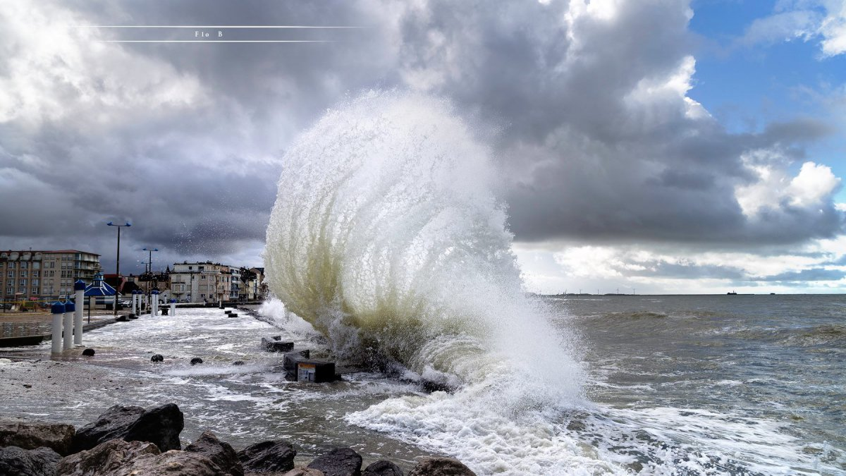 Vagues-submersion : Météo France place la Somme et le Pas-de-Calais en vigilance orange