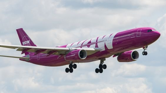 Un avion de la compagnie Wow air / © wow air