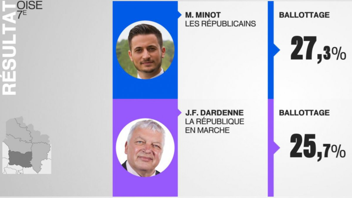 Legislatives oise resultats