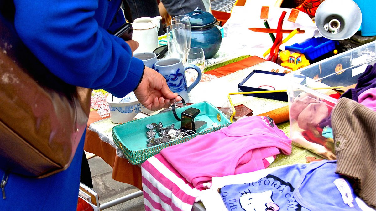 La braderie de Lille - Photo d'illustration / © MAXPPP