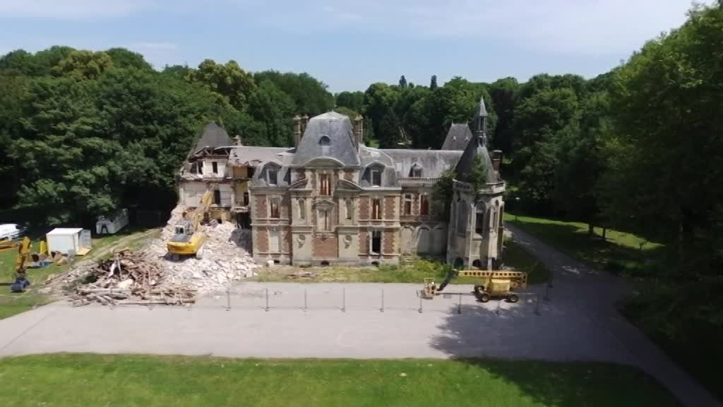 Oise : La destruction du château de Lagny-le-Sec scandalise