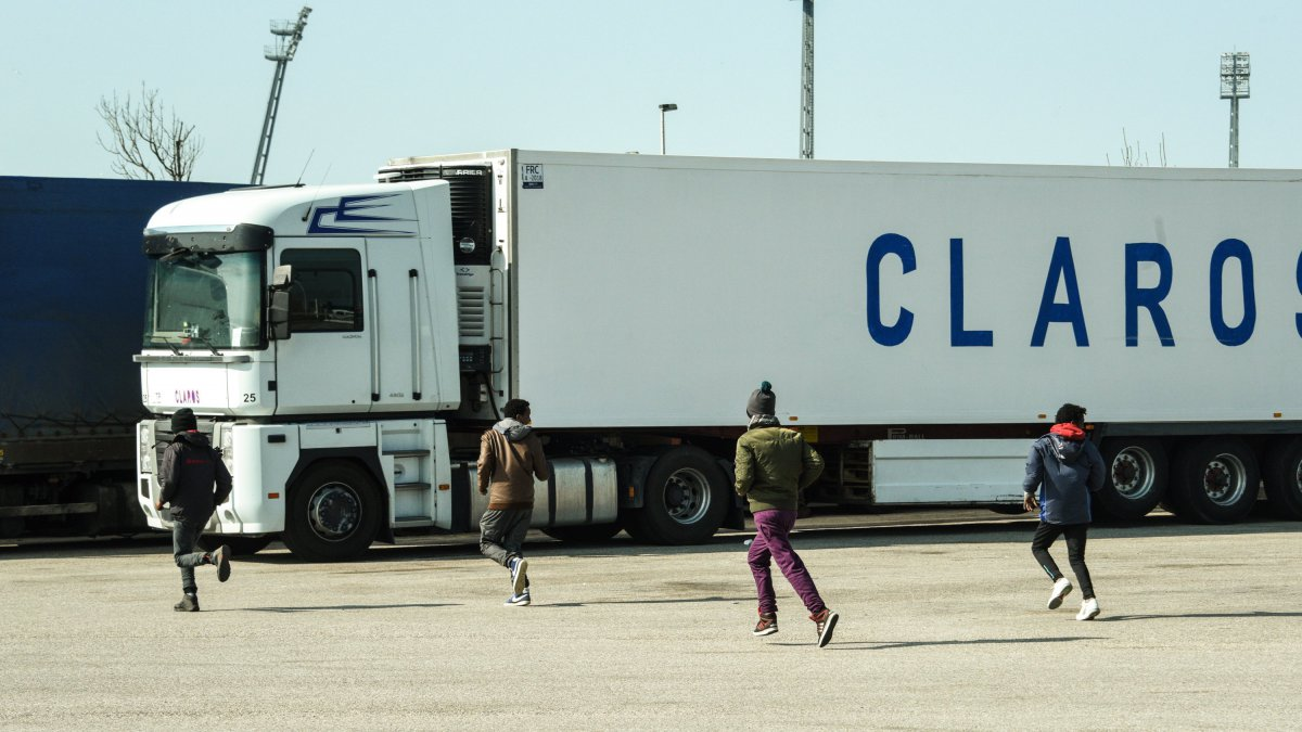 Des migrants illégaux de Calais en mars - Photo d'illustration / © DENIS CHARLET / AFP