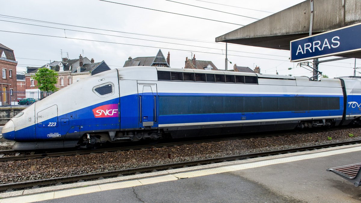 Un TGV en gare d'Arras. (Illustration) / © MaxPPP