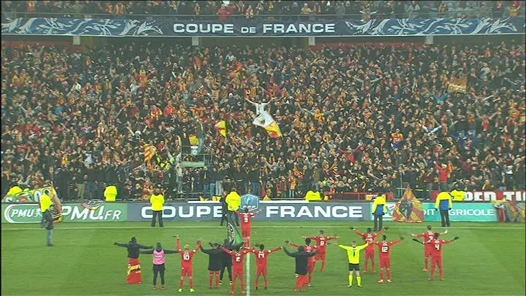 Coupe de France : Le RC Lens s'impose 3-2 contre Reims et file en 32e de finale