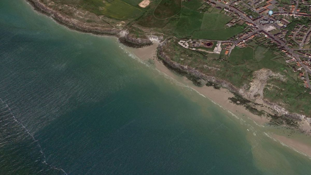 Equihen-Plage. (Illustration) / © Google Earth