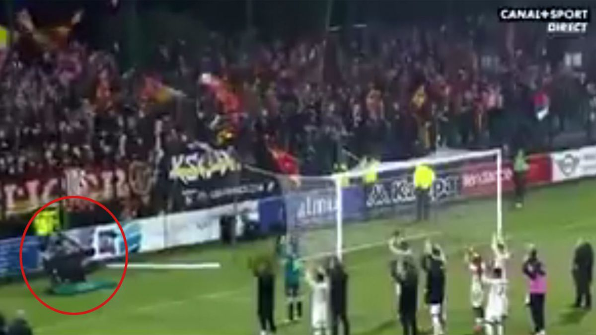 VIDEO RC Lens. Quand le caméraman participe au clapping !