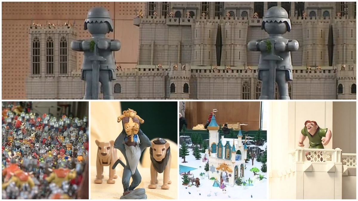 VIDEO. La plus grande exposition Playmobil du monde est à Calais