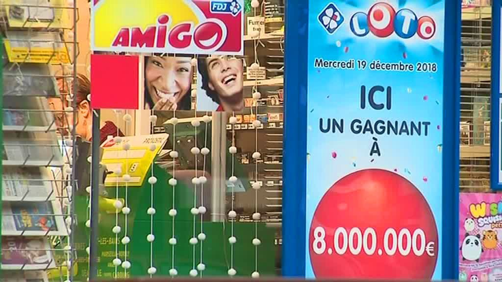 VIDEO. Annezin : un couple gagne 8 millions d'euros au loto