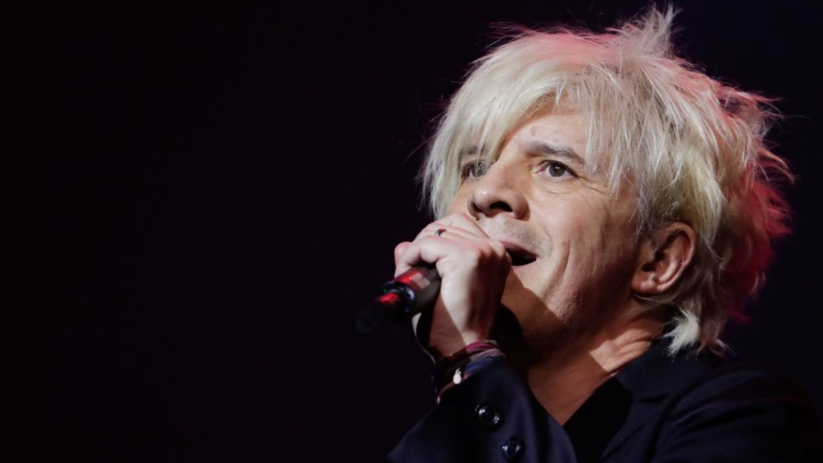 Nicola Sirkis, d'Indochine. / © THOMAS SAMSON / AFP