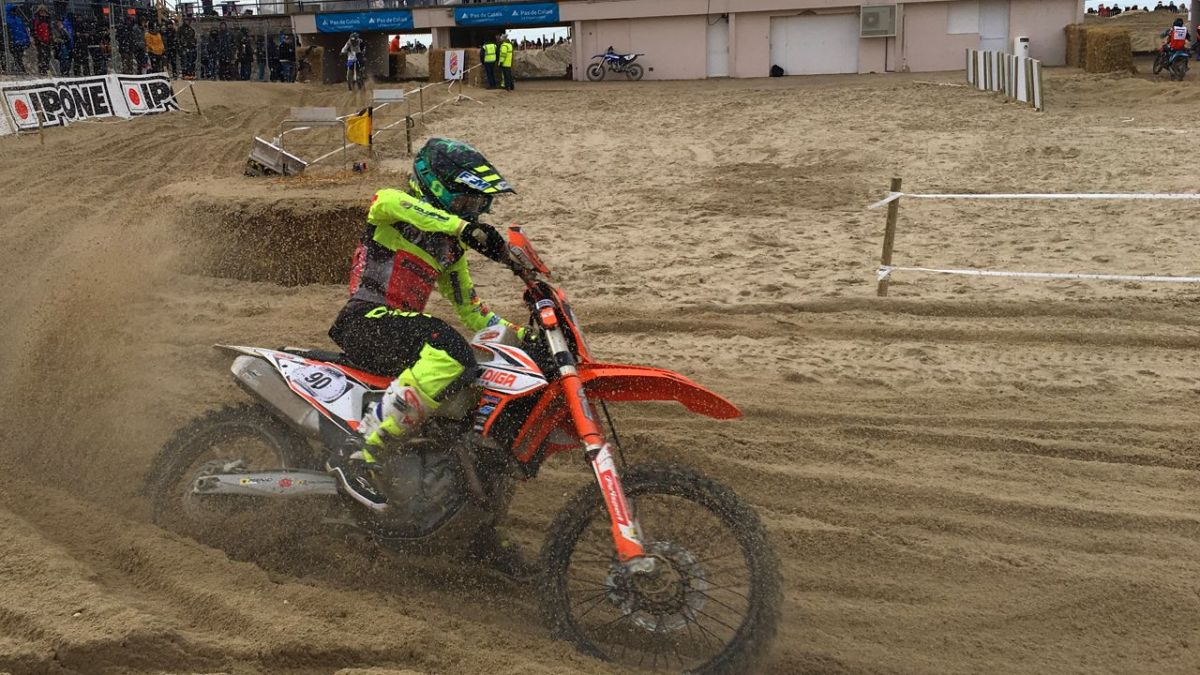 Enduropale du Touquet : Miot remporte la course juniors