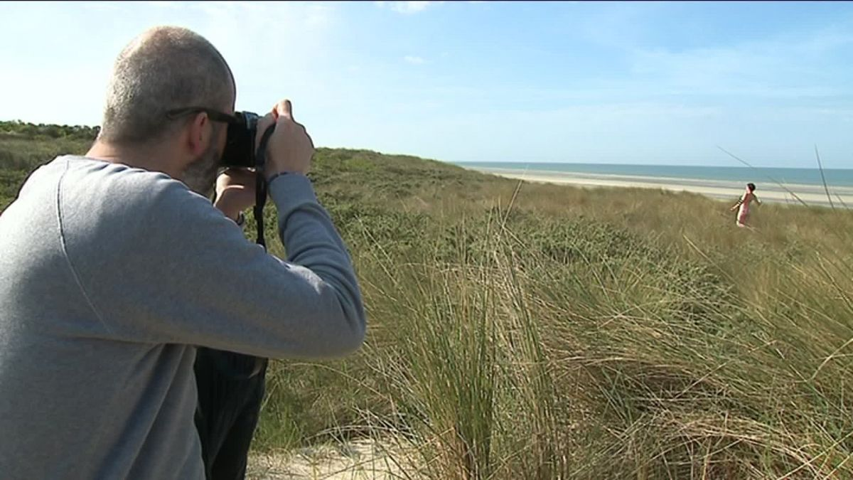 Le Touquet : le photographe David Templier choisit le nu pour défendre l'environnement