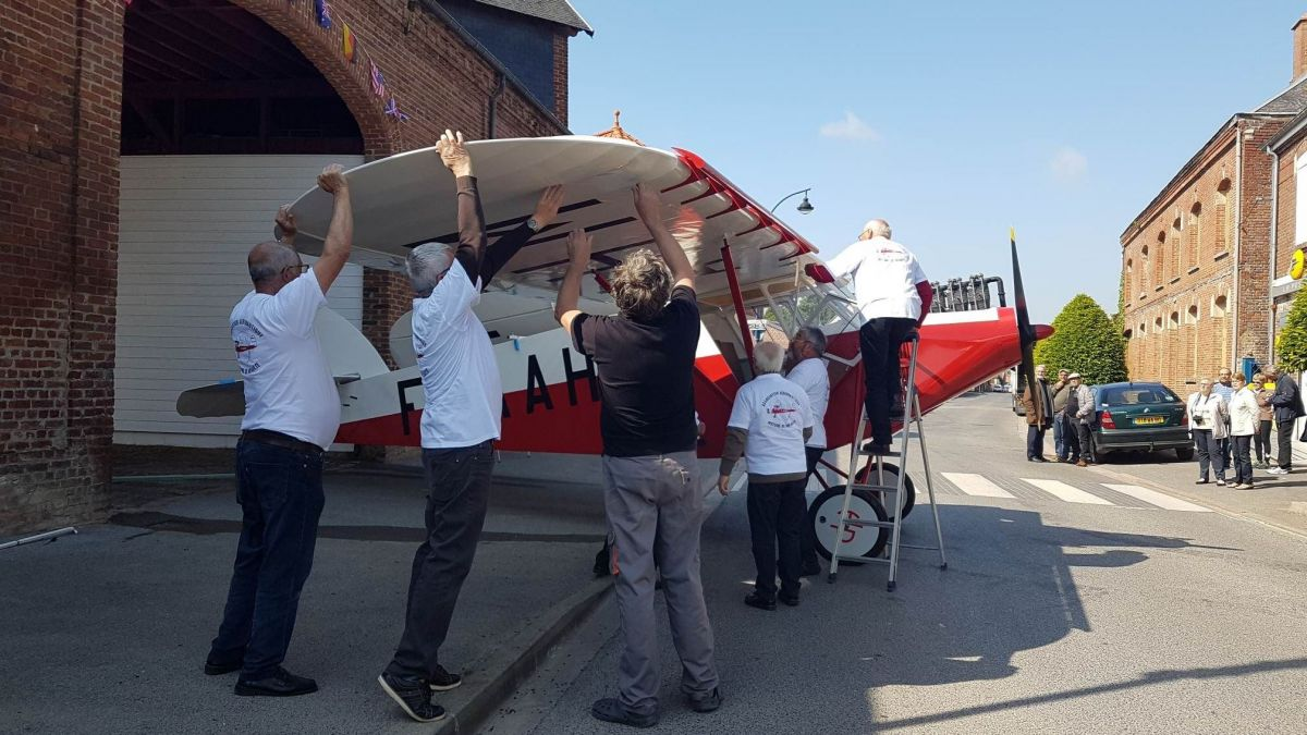 Fleuron local de l'aviation, le Potez 36 renaît de ses cendres à Méaulte (Somme)