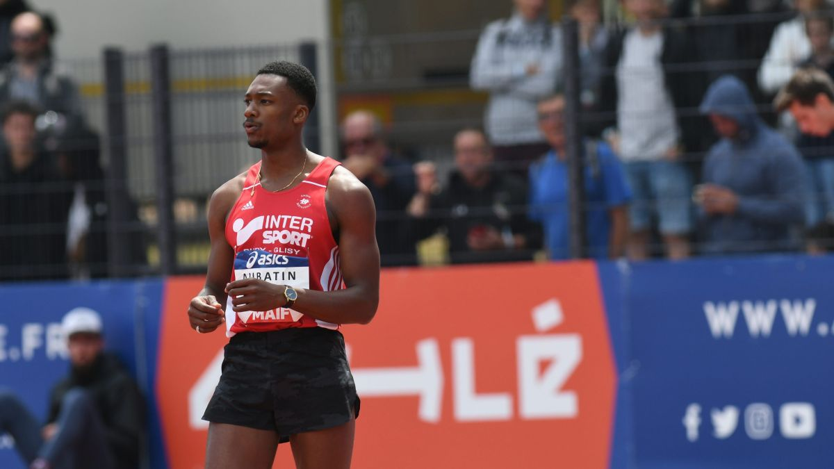 on feet at delicate colors cheap price Championnats de France d'athlétisme 2019 : William Aubatin ...