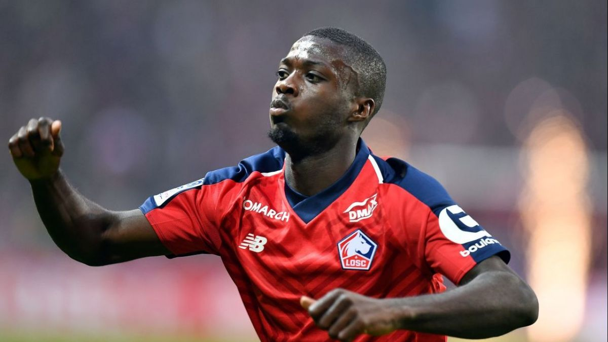 Mercato - LOSC : Arsenal et Naples se disputent Nicolas Pépé