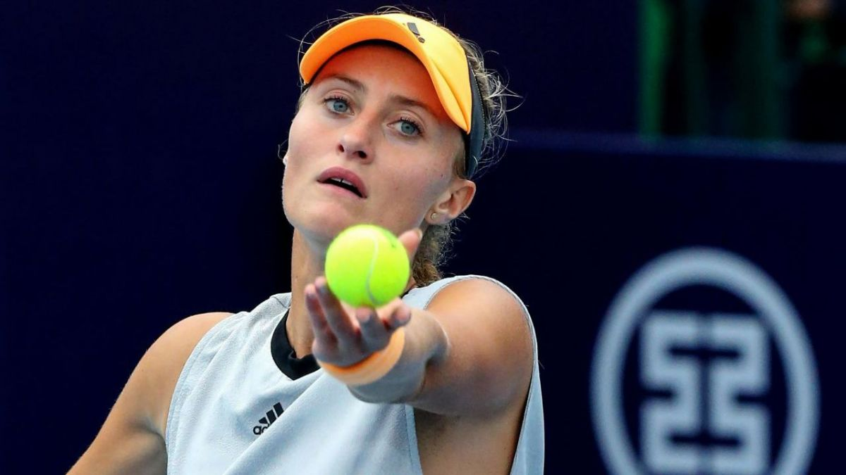 Photo d'illustration lors du tournoi WTA de Zhengzhou. / © STR / AFP