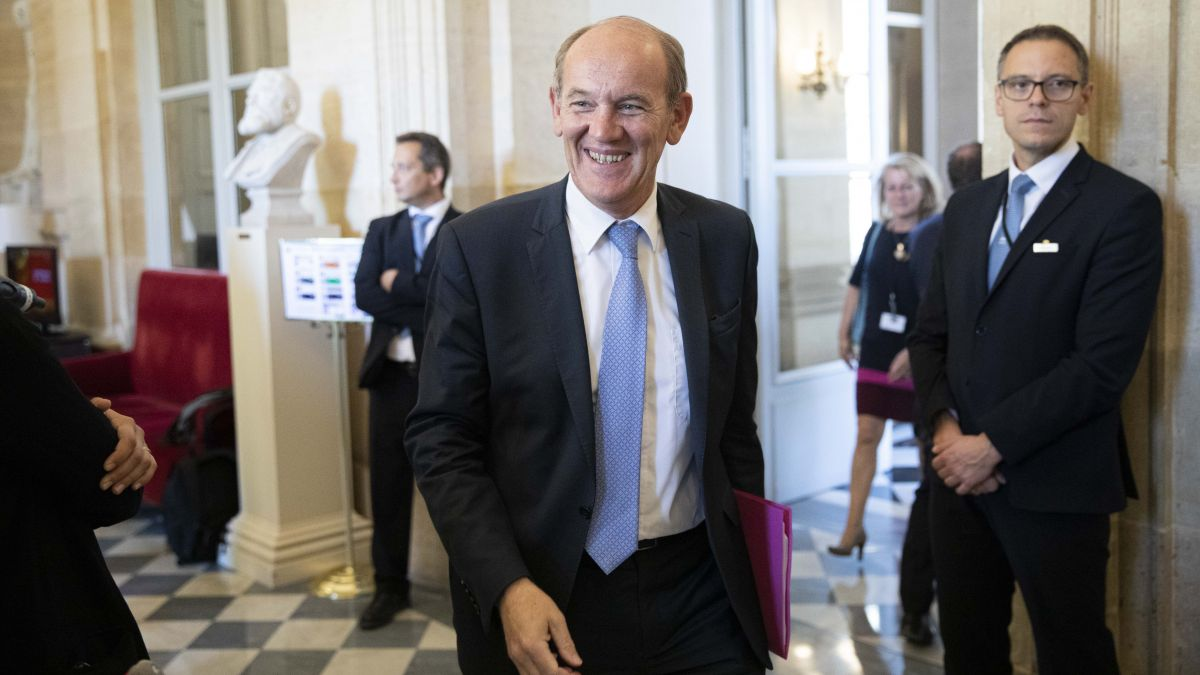 Daniel Fasquelle dans les couloirs de l'Assemblée nationale en septembre 2019. / © IP3 PRESS/MAXPPP
