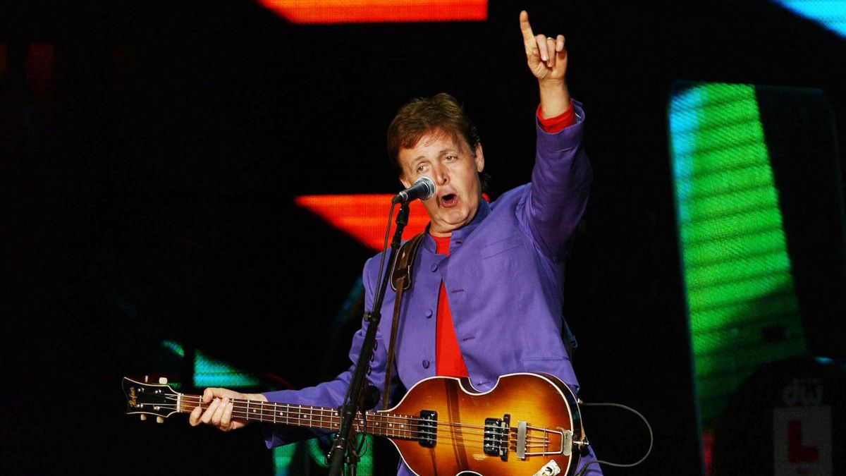 Paul Mc Cartney en concert au Stade Pierre-Mauroy en 2020