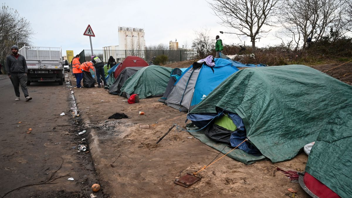 Migrant camp in Calais - 26/11/2019 / © DENIS CHARLET / AFP