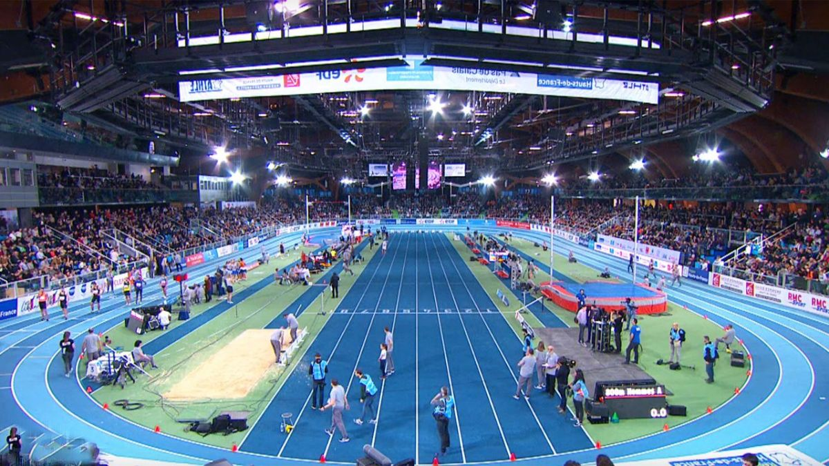 DIRECT VIDEO. Suivez le meeting d'athlétisme de Liévin