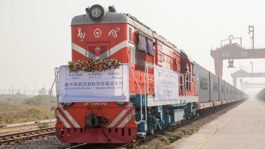 Coronavirus : le seul train de fret Chine-France à l'arrêt, Decathlon potentiellement touché