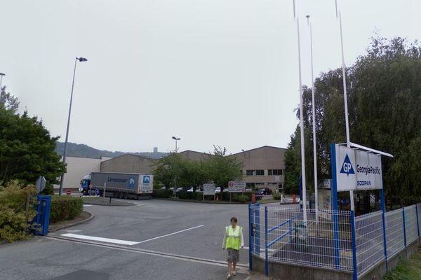 L'usine Essity située à Saint-Etienne-du-Rouvray emploie 123 salariés.