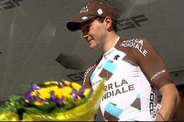 Alexis Gougeard, vainqueur de la 3e étape des 4 Jours de Dunkerque