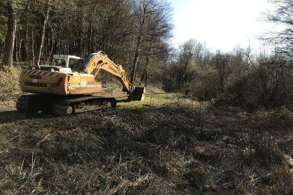 Mars/avril 2021, nouvelle série de fouilles pour retrouver le corps d'Estelle Mouzin dans les Ardennes.