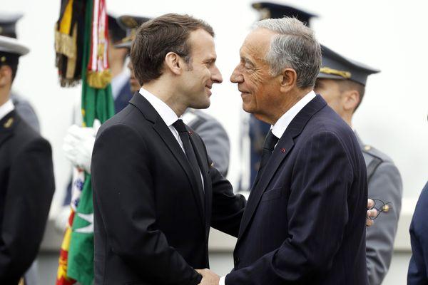 Les Présidents français et portugais étaient réunis à Richebourg.