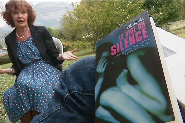 """Avec son livre témoignage, """"Le viol du silence"""" Eva Thomas a brisé les tabous"""