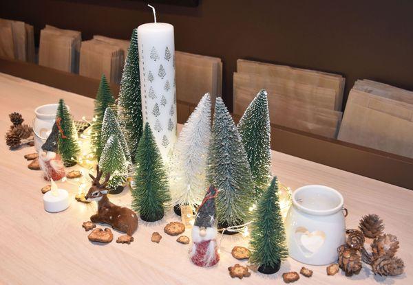 Proposition de d'objets de décoration pour la table de Noël 2019, à petit prix, par Fanny et Alexia de Søstrene Grene.
