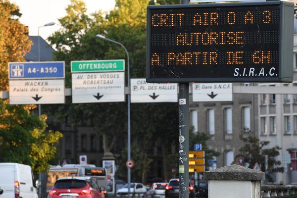 En 2024, c'est-à-dire bientôt, même les Crit'Air 2 ne seront plus autorisées de circuler dans Strasbourg