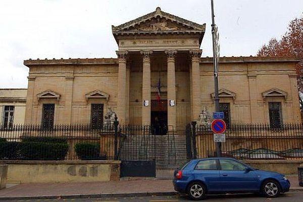 Le tribunal grande instance de Perpignan, dans les Pyrénées-Orientales.