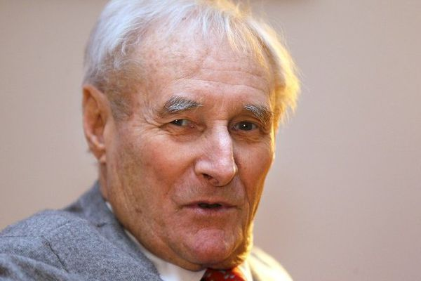 Gerard de Villiers, le 13 février 2013.