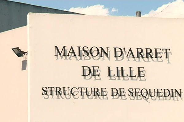 L'entrée de la prison de Lille-Sequedin