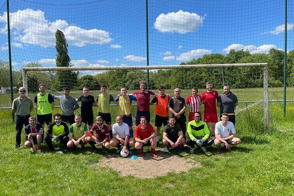 Journée de détection au Metz-Nancy Sourds Football le 31 mai 2021.
