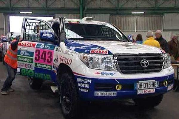 Les véhicules des participants au Dakar 2015 quitteront le Havre le 30 novembre.