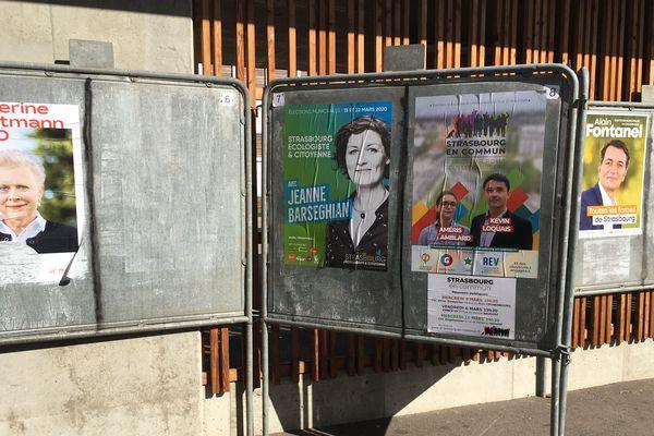 Des rassemblements de fin de campagne des municipales sont annulés à Strasbourg (Bas-Rhin) à cause du coronavirus.