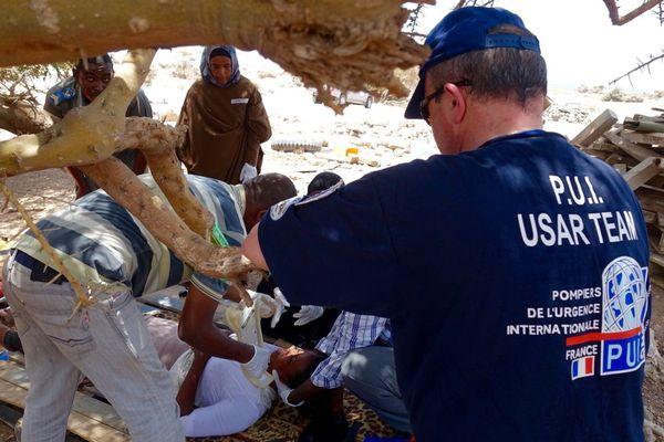 Les PUI en mission à Djibouti, en mai 2016.