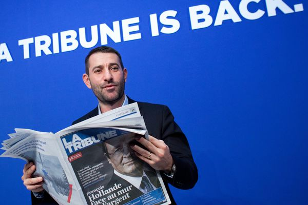 Jean-Christophe Tortora, lors de la reprise de La Tribune.