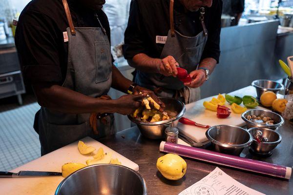 """Baptisé """"Toques académie"""", un restaurant solidaire ouvrira en 2020 à Clermont-Ferrand."""