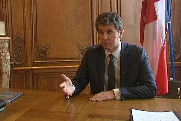 Gilles Platret, maire LR de Chalon-sur-Saône, en Saône-et-Loire