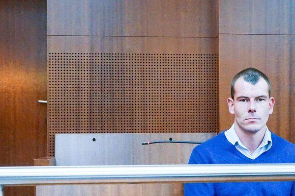 Francis Dorffer en 2014, devant la cour d'assises de Versailles
